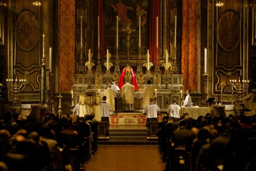The Easter Vigil at the London Oratory